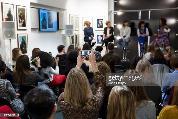 Anna Fielding, Associate Editor, Stylist, Rebecca Swift, Director of Creative Insight, Getty Images, Charlotte Jansen, author and journalist, Sue...