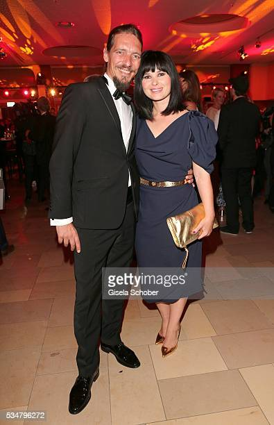 Anna Fischer and her boyfriend Leonard Andreae during the Lola German Film Award 2016 after show party at Palais am Funkturm on May 27 2016 in Berlin...