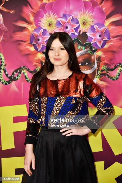 Anna Fischer attends the Afrika Afrika 2018 Show Premiere on January 23 2018 in Berlin Germany