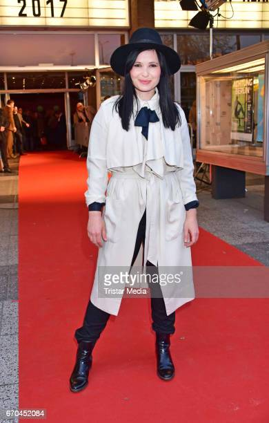 Anna Fischer attends the Berlin Filmfestival Opening 'Achtung Berlin' With The Movie Beat Beat Heart on April 19, 2017 in Berlin, Germany.