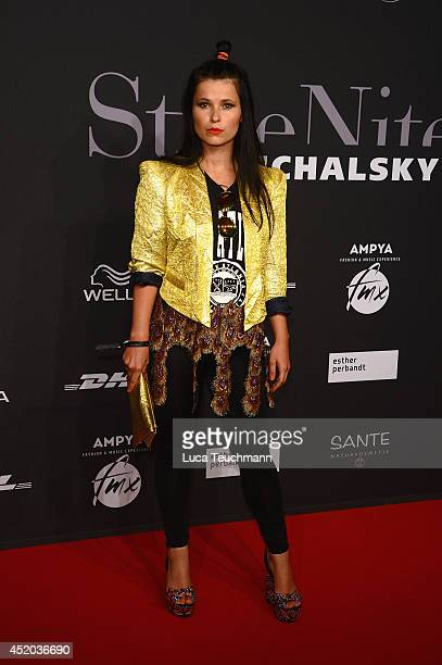 Anna Fischer attends the Michalsky Style Night at Tempodrom on July 11 2014 in Berlin Germany