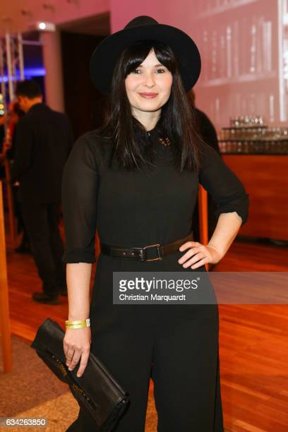 Anna Fischer attends the Opening Reception Of Deutsche Produzentenallianz at Representation of the state of BadenWuerttemberg on February 8 2017 in...