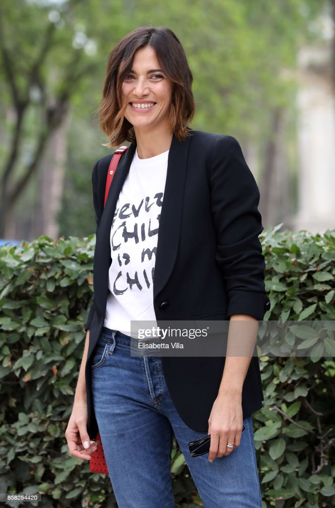 Anna Foglietta attends Alice Nella Citta' 2017 Presentation on October 6, 2017 in Rome, Italy.