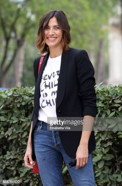 Anna Foglietta attends Alice Nella Citta' 2017 Presentation on October 6 2017 in Rome Italy