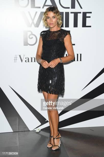 Anna Foglietta attends the Vanity Fair Black And White Ball Photocall during the 76th Venice Film Festival at Scuola Grande della Misericordia on...