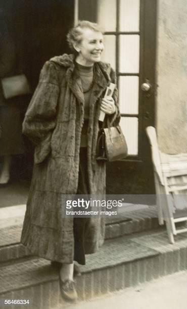 Anna Freud. Photography. 1950. [Anna Freud. 1950]
