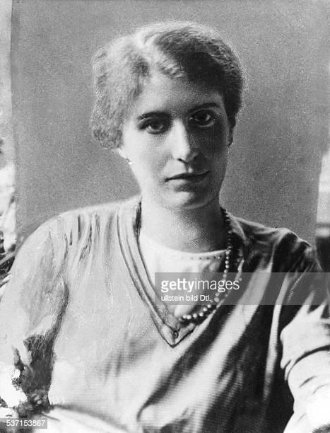 Anna Freud , , Psychoanalyst, Austria / Great Britain, Daughter of Sigmund Freud, Portrait, - around 1930