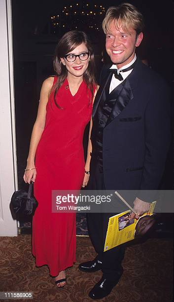 Anna Friel and Darren Day during Anna Friel at The Biritish Music Industry Awards in London, Great Britain.