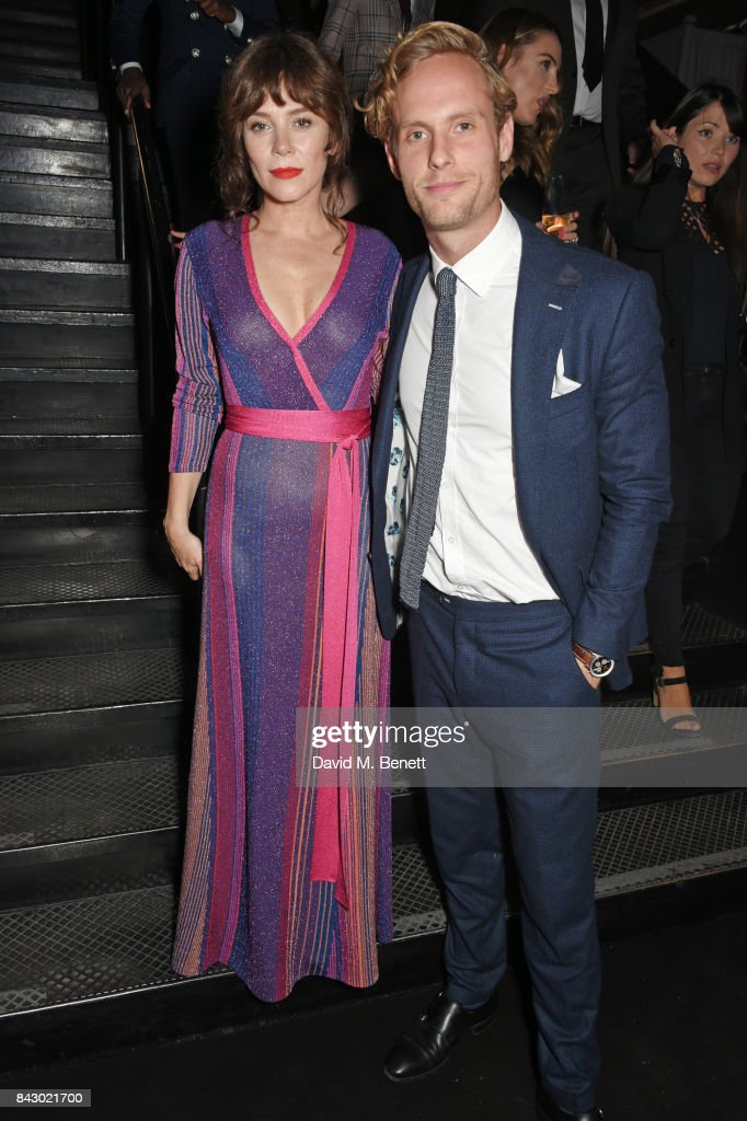 Anna Friel (L) and Jack Fox attend the GQ Men Of The Year Awards at the Tate Modern on September 5, 2017 in London, England.