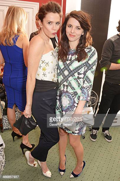 Anna Friel and Ophelia Lovibond attend the InStyle Best of British Talent party in celebration of BAFTA in association with Lancome and Sky Living at...