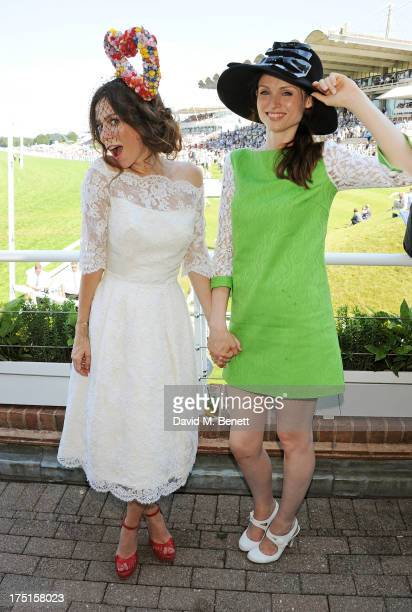 Anna Friel and Sophie Ellis Bextor attend Ladies Day hosted by Audi at Glorious Goodwood held at Goodwood Racecourse on August 1 2013 in Chichester...