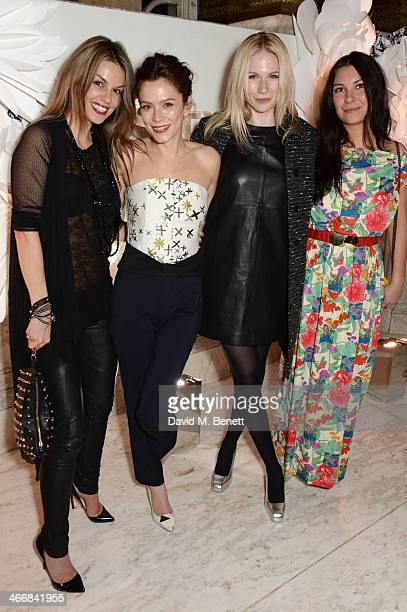 Anna Friel and Tuuli Shipster attend the InStyle Best of British Talent party in celebration of BAFTA in association with Lancome and Sky Living at...