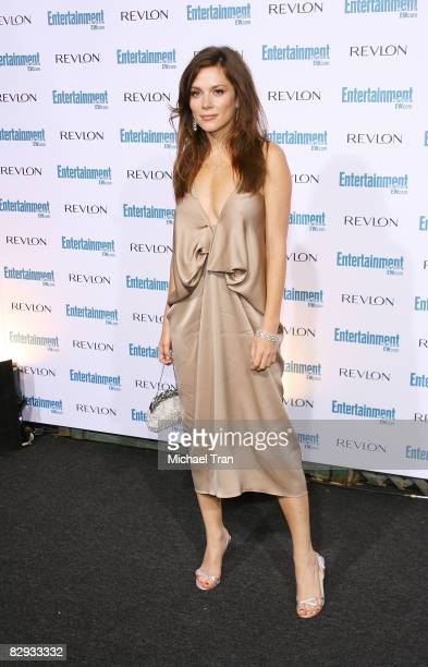 Anna Friel arrives to the 6th Annual Entertainment Weekly PreEMMY celebration held at the Historic Beverly Hills Post Office on September 20 2008 in...
