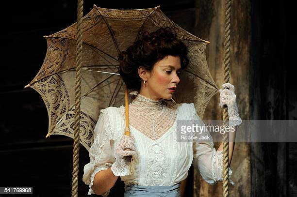 Anna Friel as Yelena in Anton Chekhov's Uncle Vanya directed by Lindsay Posner at the Vaudville Theatre in London