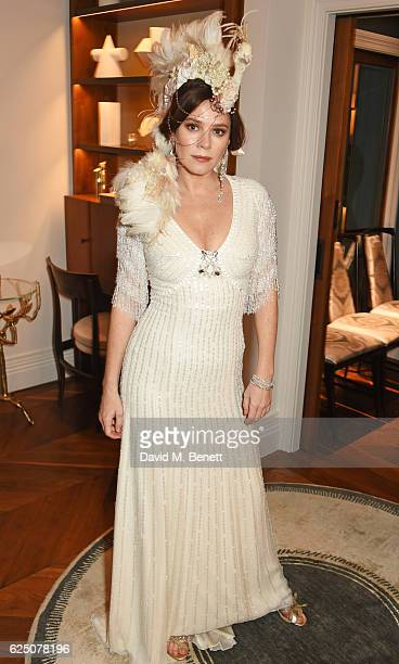 Anna Friel attends a VIP dinner to celebrate The Animal Ball 2016 presented by Elephant Family at The Arts Club on November 22 2016 in London England