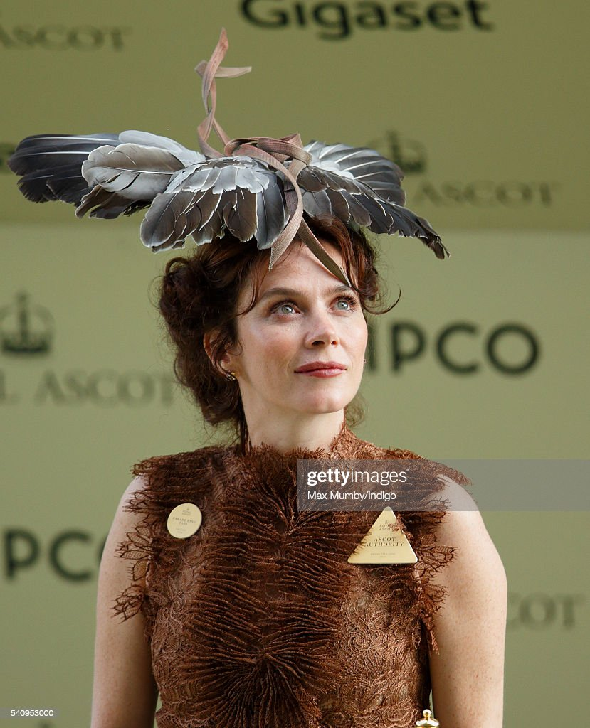 Anna Friel attends day 4 of Royal Ascot at Ascot Racecourse on June 17, 2016 in Ascot, England.