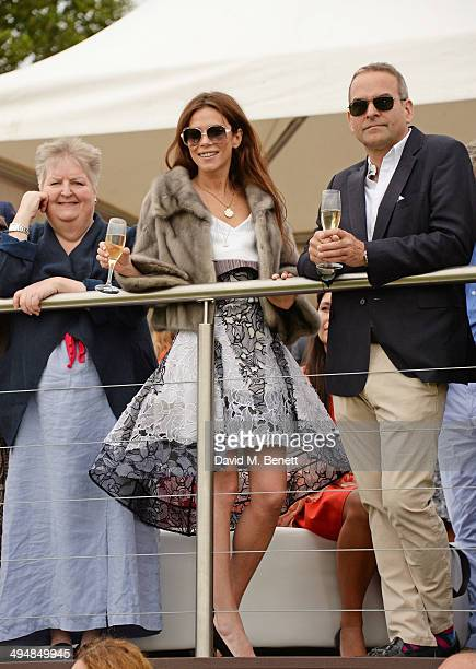Anna Friel attends day one of the Audi Polo Challenge at Coworth Park Polo Club on May 31 2014 in Ascot England
