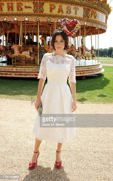 Anna Friel attends Ladies Day hosted by Audi at Glorious Goodwood held at Goodwood Racecourse on August 1 2013 in Chichester England