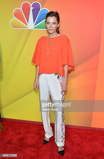 Anna Friel attends the 2014 NBC Upfront Presentation at The Jacob K Javits Convention Center on May 12 2014 in New York City