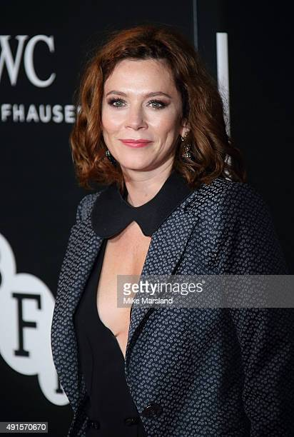 Anna Friel attends the BFI Luminous Funraising Gala at The Guildhall on October 6 2015 in London England