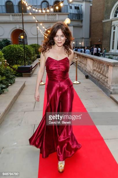 Anna Friel attends the ENO Gala 2018 A Celebration of Women in Opera at Gibson Hall on April 19 2018 in London England