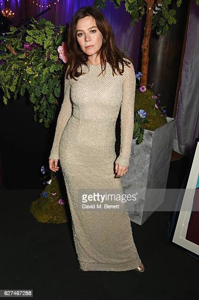 Anna Friel attends The Ireland Fund Of Great Britain's 'The Winter Ball' in the Midnight Garden of Shakespeare's Globe on December 3 2016 in London...