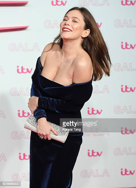 Anna Friel attends the ITV Gala at London Palladium on November 24 2016 in London England