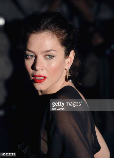 Anna Friel attends the London Evening Standard Theatre Awards at the Royal Opera House on November 23, 2009 in London, England.