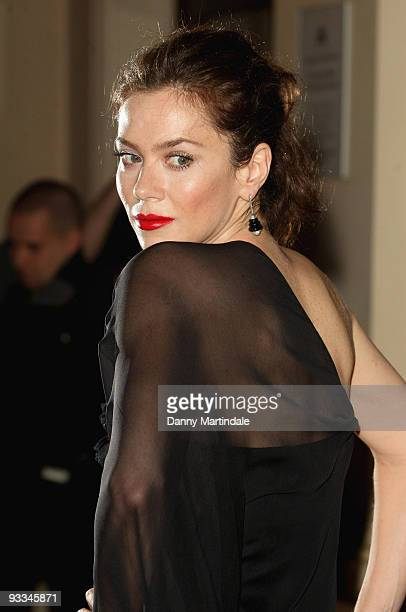 Anna Friel attends the London Evening Standard Theatre Awards at The Royal Opera House on November 23 2009 in London England