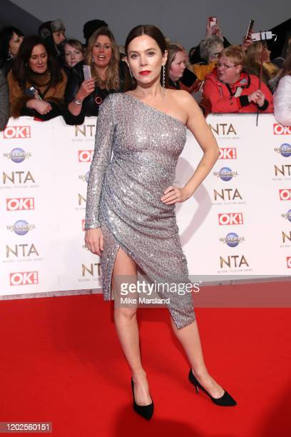 Anna Friel attends the National Television Awards 2020 at The O2 Arena on January 28, 2020 in London, England.