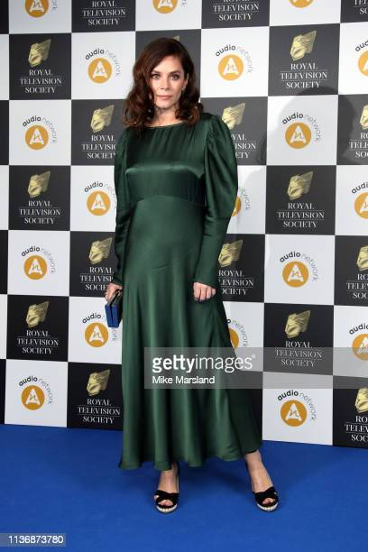 Anna Friel attends the Royal Television Society Programme Awards at Grosvenor House on March 19, 2019 in London, England.