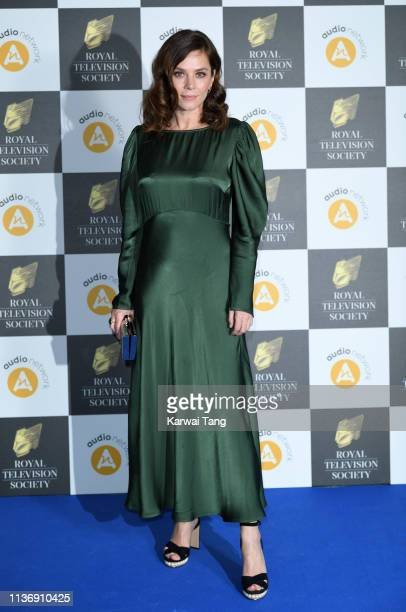 Anna Friel attends the Royal Television Society Programme Awards at Grosvenor House on March 19 2019 in London England