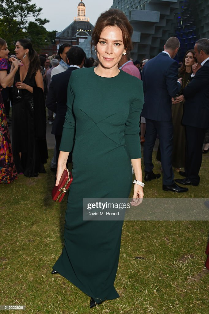 Anna Friel attends The Serpentine Summer Party co-hosted by Tommy Hilfiger on July 6, 2016 in London, England.