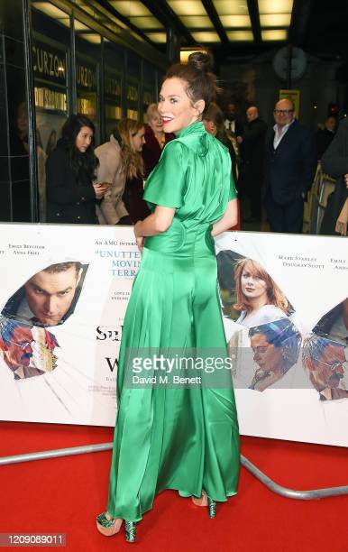 Anna Friel attends the World Premiere of Sulphur And White at The Curzon Mayfair on February 27 2020 in London England