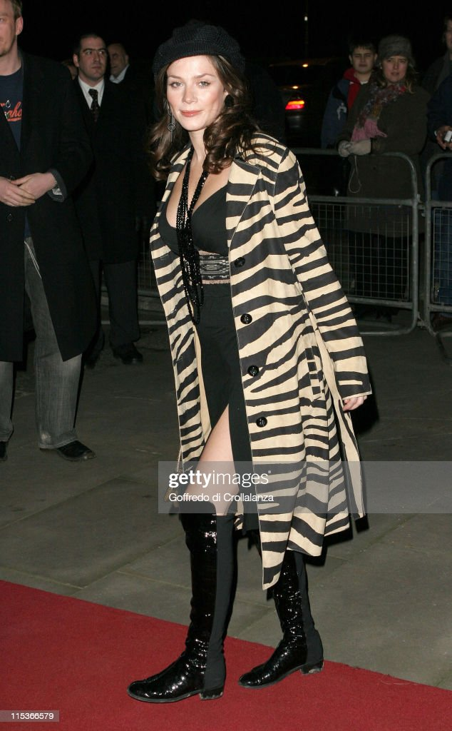 Anna Friel during Cirque du Soleil's 20th Anniversary of 'Dralion' at Royal Albert Hall in London, Great Britain.
