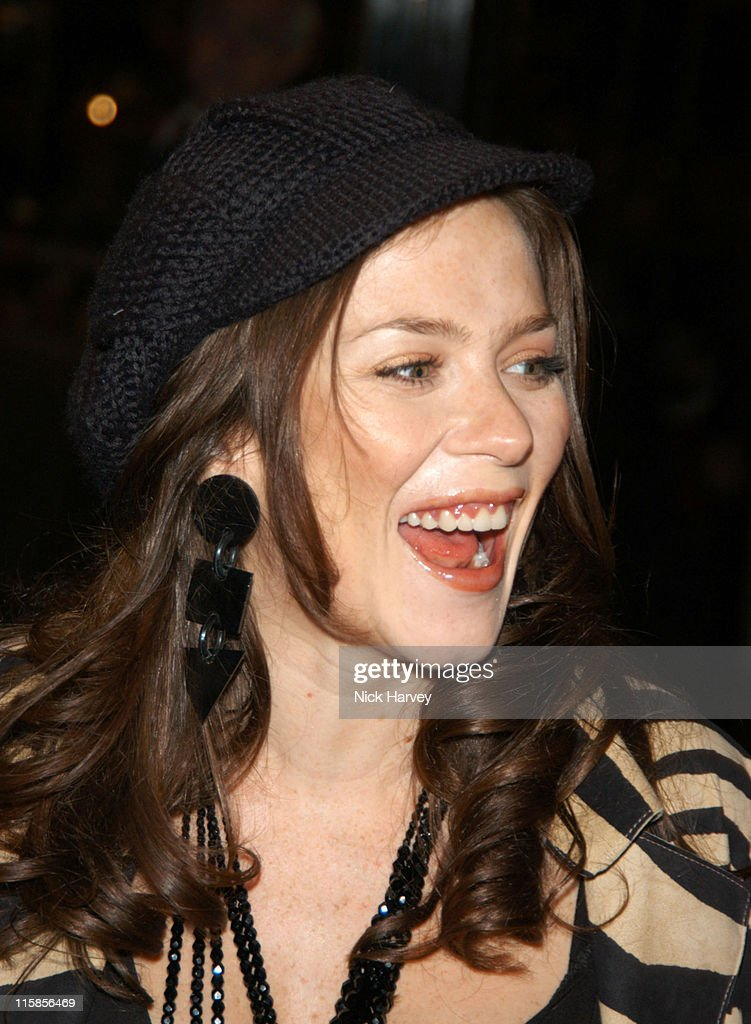 Anna Friel during Cirque du Soleil's 20th Anniversary of 'Dralion' - Arrivals at The Royal Albert Hall in London, Great Britain.