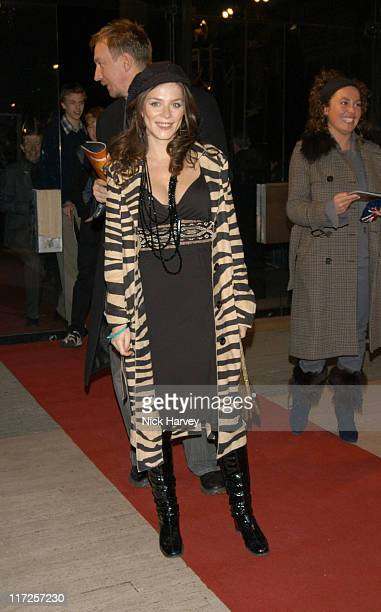 Anna Friel during Cirque du Soleil's 20th Anniversary of Dralion Arrivals at The Royal Albert Hall in London Great Britain