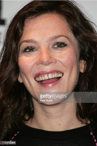 Anna Friel during Goal II Living The Dream Photocall at The Dorchester in London Great Britain