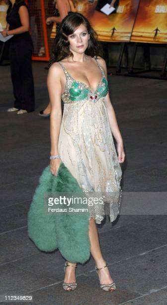 """Anna Friel during """"Goal!"""" London Premiere - Arrivals at Odeon Leicester Square in London, Great Britain."""