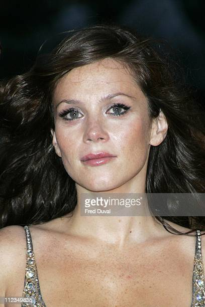 Anna Friel during Goal London Premiere Arrivals at Odeon Leicester Square in London Great Britain