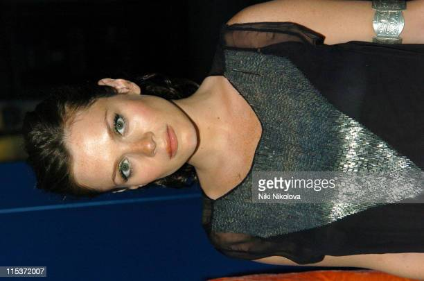 Anna Friel during One&Only Reethi Rah - Pre-Launch Dinner at Sketch in London, Great Britain.