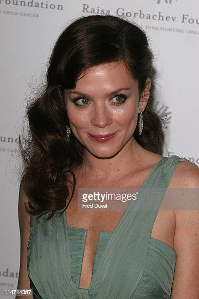 Anna Friel during Raisa Gorbachev Foundation Party Red Carpet at Hampton Court Palace in London United Kingdom