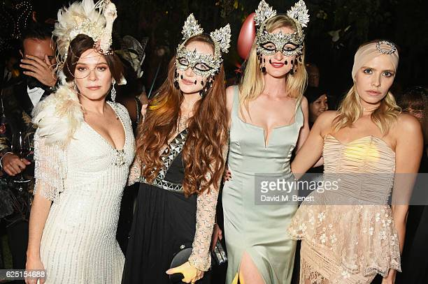 Anna Friel Olivia Grant Candice Lake and Elena Perminova attend The Animal Ball 2016 presented by Elephant Family at Victoria House on November 22...