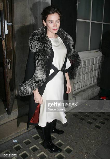 Anna Friel sighting on November 1 2012 in London England