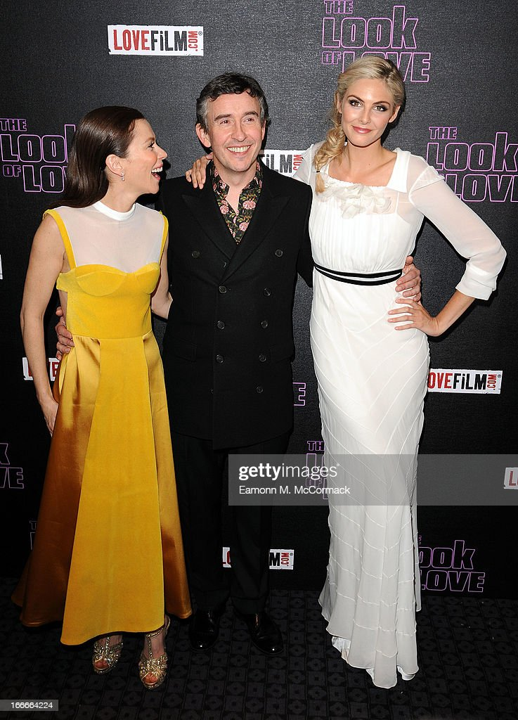 Anna Friel, Steve Coogan and Tamsin Egerton attend 'The Look Of Love' UK premiere at Curzon Soho on April 15, 2013 in London, England.