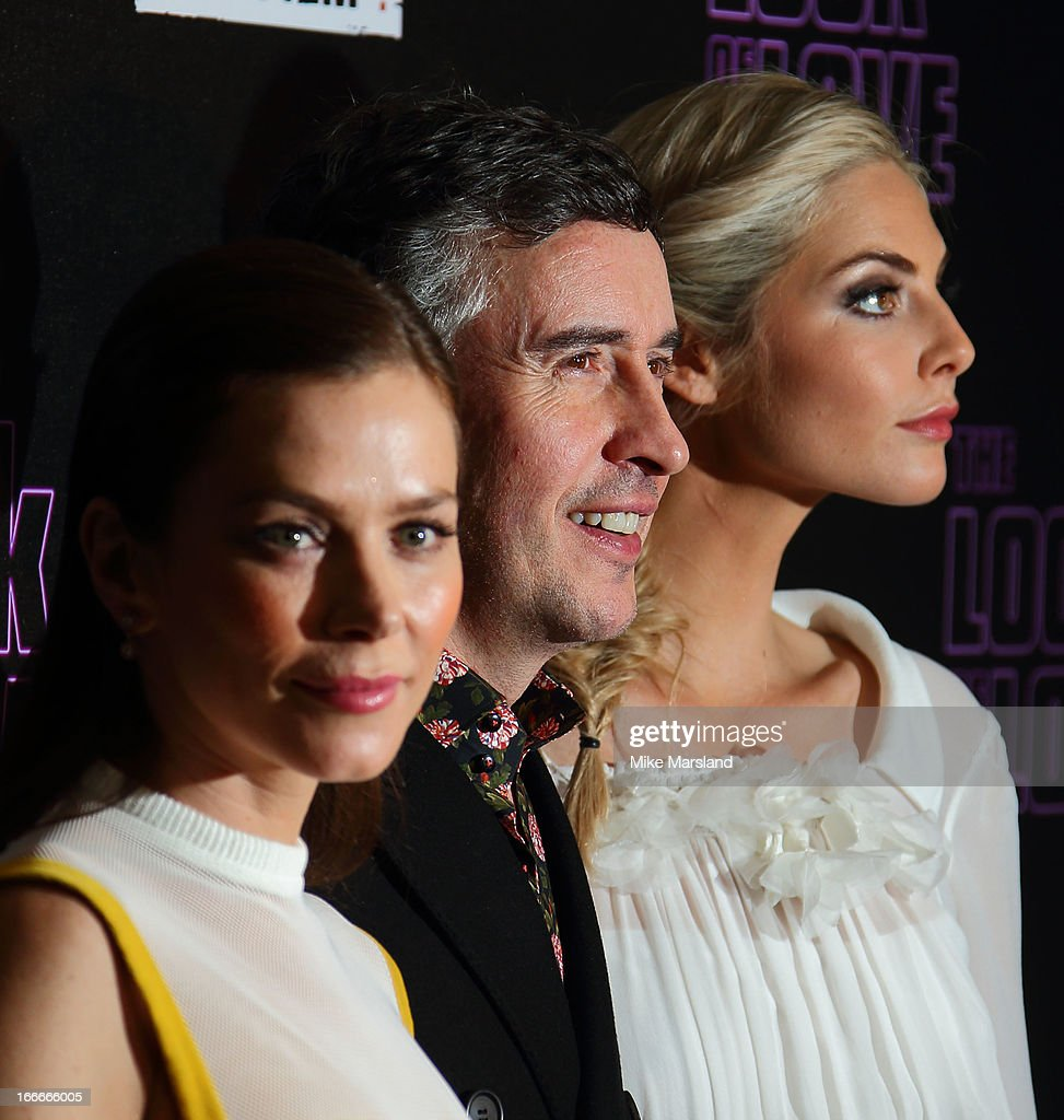 Anna Friel; Steve Coogan and Tamsin Egerton attend 'The Look Of Love' UK premiere at Curzon Soho on April 15, 2013 in London, England.