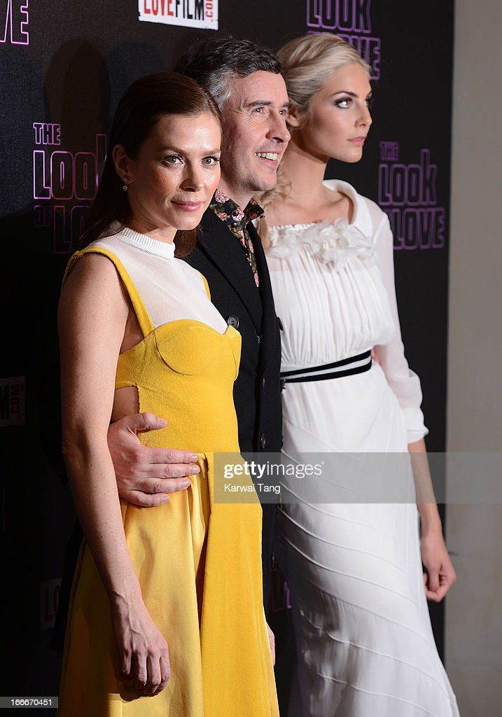 Anna Friel, Steve Coogan and Tamsin Egerton attends 'The Look Of Love' UK premiere>> at Curzon Soho on April 15, 2013 in London, England.