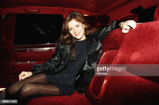 Anna Friel visits Nue Valbonne Night Club Reading 14th January 1996