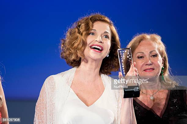 Anna Galiena attends 62 Taormina Film Fest Day 8 on June 18 2016 in Taormina Italy