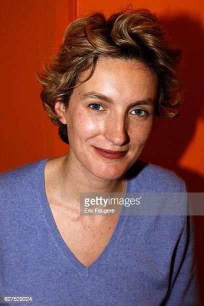 Anna Gavalda attends the 2008 'Salon du Livre' in Paris